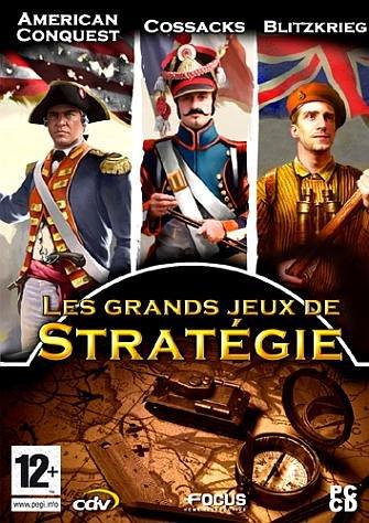 Coffret Les Grands Jeux de Stratégie (Cossacks, American Conquest, Blitzkrieg) [FR Import]