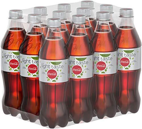 Coca-Cola Light Taste Ginger Lime / Der leichte Geschmack mit einer Note von Ingwer und Limette / 12 x 500 ml Einweg Flasche, 6000 ml