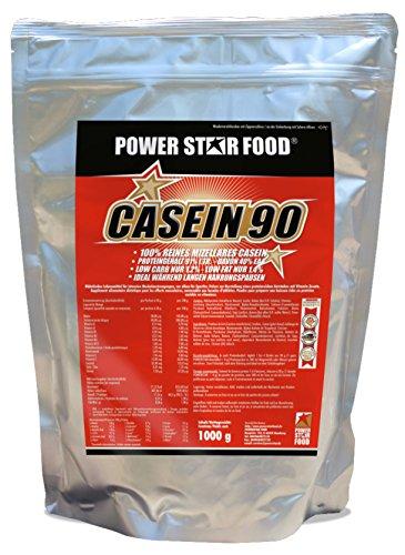 MICELLARES CASEIN BESTSELLER, Nachtprotein Protein-Shake als absoluter Preishit, 100% Calciumcasein mit sehr hohen 91% Proteingehalt i.Tr., lange Proteinversorgung für Diät und Nacht