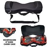"""SmartBoardsUK BLACK HARD CASE - 8"""" Hoverboard Self Balancing Scooter Swegway sac de transport * NOUVEAU *"""