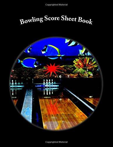 Bowling Score Sheet Book: 200 Pages (100 sheets) por Julien Coallier