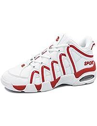 SHELAIDON Zapatillas de Baloncesto para Hombre, Zapatos para Mujer, Basketball Shoes