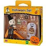 Sylvanian Families 2229 - Kit de figuras y accesorios en miniatura, diseño de Halloween