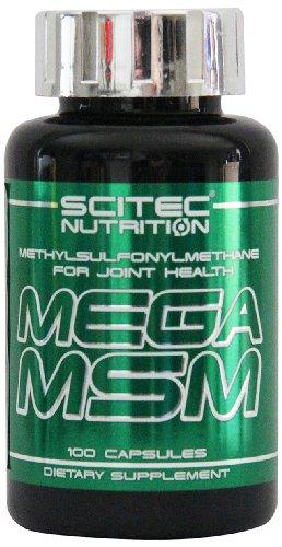 Scitec Nutrition Mega MSM Nahrungsergänzungsmittel, 100 Kapseln