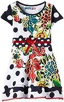 Desigual Berroy - Robe - Imprimé - Manches courtes - Fille