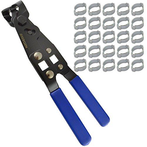 Oreja doble tubo abrazaderas Abrazaderas de manguera de 13-15mm 25pcs Y JUNTA HOMOCINÉTICA PINZAS DE ARRANQUE
