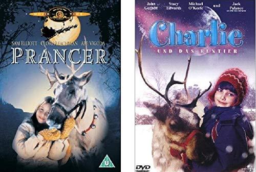 Prancer 1+2 DVD Set, Jessica & Charlie und das Rentier, deutsch, Dvds I und II