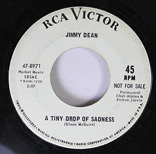 jimmy-dean-45-rpm-a-tiny-drop-of-sadness-stand-beside-me