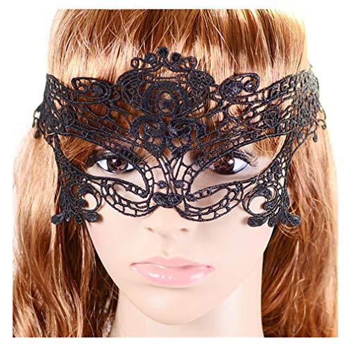 Beautynie Damen Maske Sexy Elegante Augenmaske Maskerade Maske Frauen Karneval Maske Gesichtsmaske Kostüm Festival Party Spielzeug Schmetterling Karneval Masken Verkleiden Geschenk ()