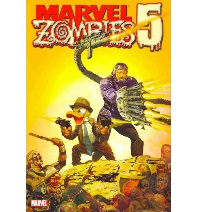 Hardcover Zombies Marvel ([ MARVEL ZOMBIES 5 (MARVEL ZOMBIES) - ] Marvel Zombies 5 (Marvel Zombies) - By Van Lente, Fred ( Author ) Nov-2010 [ Hardcover ])