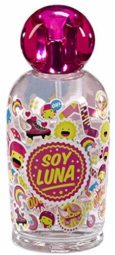 Paris Parfüm-flasche (SOY LUNA Disney Soy Luna fruchtig-frisches Eau de Toilette 100ml (Duftnote: fruchtig, blumig, süß)  – Geschenk-Set für Mädchen)