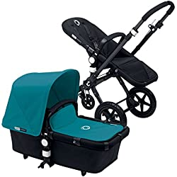 Bugaboo Cameleon3 Complete Stroller - Petrol Blue - Black by Bugaboo