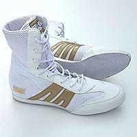 Pro Box Junior Boxing Boots White/Gold