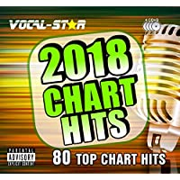 Karaoke 2018 Chart Hits CDG CD+G Disc Set 80 Songs on 4 Discs Including The Best Ever Karaoke Tracks Of All Time From Vocal-Star Karaoke