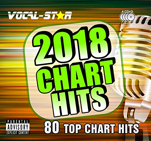 Karaoke 2018 Chart Hits CDG Set discos CD + G –