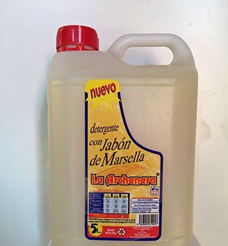 Jabón de Marsella casero (5 litros)