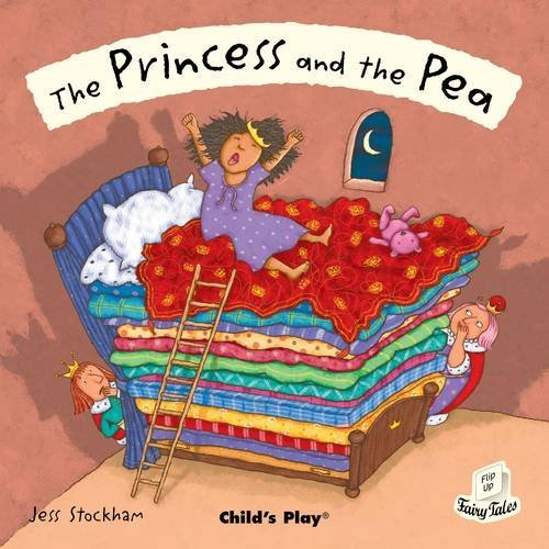 The Princess and the Pea (Flip-Up Fairy Tales) by Jess Stockham (Illustrator) (15-Dec-2009) Paperback