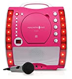 Singing Machine SML343P Impianto per Karaoke, Rosa