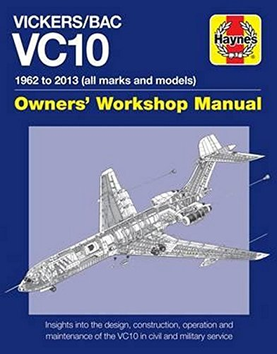 Vickers/Bac Vc10 Manual: All models and variants (Owners Workshop Manual)