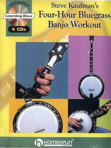 Steve Kaufman's Four-Hour Bluegrass Banjo Workout - CD, Noten [Musiknoten]