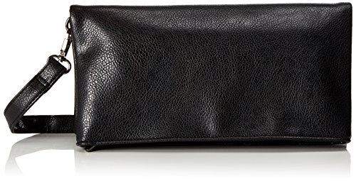 Handbag 1007 Damen Sonja Clutch Schwarz (Schwarz)