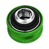 Tutoy G1/4 Rosca Rígida Tubo Racores Od 16Mm Tubo Duro Extensor Accesorios para Pc Refrigeración por Agua-Verde