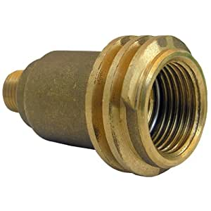 LASCO 17-5381 Male QCC-1 by 1/4-Inch Male Pipe Thread