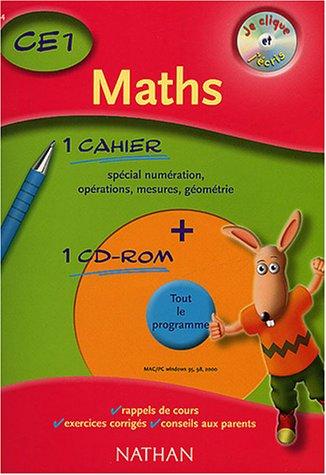 Je clique et j'écris : Maths CE1, 2003