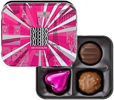 Fauchon - Assortiment de 4 bonbons de chocolat