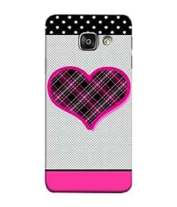 99Sublimation Designer Back Case Cover For Samsung Galaxy A5 (6) 2016 :: Samsung Galaxy A5 2016 Duos :: Samsung Galaxy A5 2016 A510F A510M A510Fd A5100 A510Y :: Samsung Galaxy A5 A510 2016 Edition Pink Heart Design