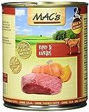 Mac's Rind & Kürbis, 6er Pack (6 x 800 g)