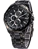 Handcuffs Analogue Black Dial Men's Watc...