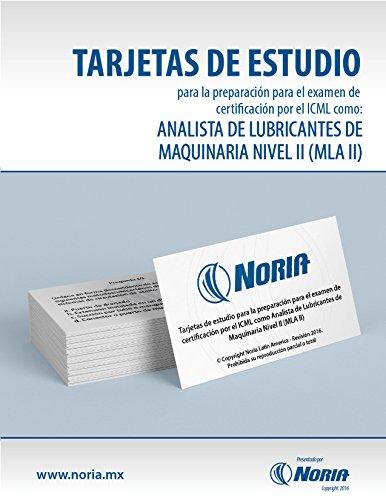 Tarjetas de estudio MLAII por Noria Latin America S.A. de C.V.