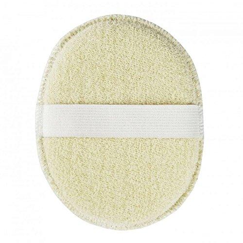 AVRIL - Éponge Visage en Coton Bio - Ultra douce pour la toilette du visage - Convient à toute la famille - Hypoallergénique - Taille : 14 cm x 11,5 cm