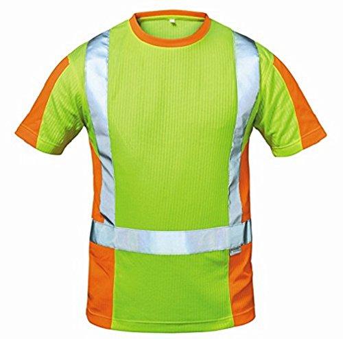 """Elysee 22715-XL Warnschutz T-Shirt\""""Utrecht\"""" Größe XL in gelb/orange,"""
