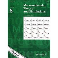 Macromolecular Theory and Simulations