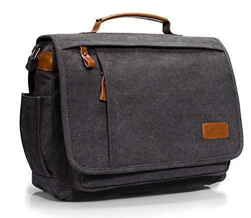 Estarer Umhängetasche 14 Zoll Laptoptasche Messenger Bag für Alltag Sport Reise Tasche Mäntel