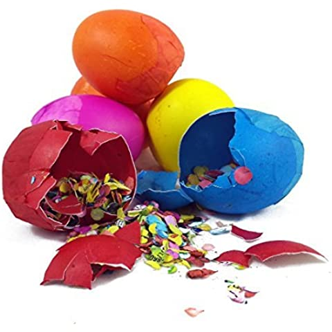 Cascarones (Confetti Eggs - One Dozen)--Colors Vary by Silly Rabbit