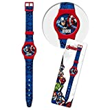 Reloj DE LOS Vengadores Avengers Marvel Super Heroes MUÑECA CONF Digital. CM 23 - 41438BLU