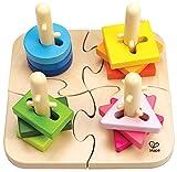 Hape E0411 - Kreatives Steckpuzzle, 16 teilig