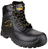 Puma Safety Borneo Black Mid S3 HRO SRC, Unisex Adults' Safety Shoes