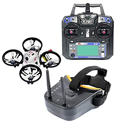 GEHOO GH KINGKONG ET100 Brushless RC Racing Drone Quadcopter RTF with 800TVL Camera VTX Video Goggles from GEHOO GH