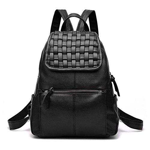Rucksack/Damen-Rucksack/Casual chic einfache Frauen Taschen-grau schwarz