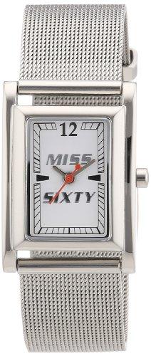 Sector - R0753101501 - Mesh - Montre Femme - Quartz Analogique - Cadran Blanc - Bracelet Acier Argent