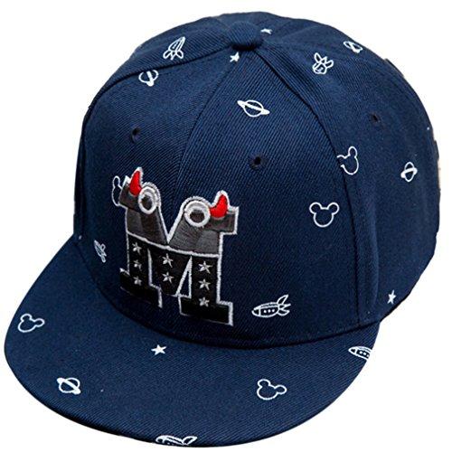 Belsen Kind Baby Teufel Ox Horn Baseball Kappen Cap Truckers Hat (blau)