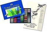 Faber-Castell 128272 - Softpastellkreide STUDIO QUALITY mini, 72er Etu + hochwertiger A4 Skizzenblock
