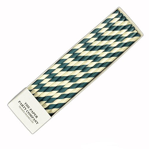 25-x-retro-paper-straws-over-50-colour-choices-in-listing-striped-polka-dot-by-tfs-teal-stripe