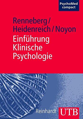 Einführung Klinische Psychologie (PsychoMed compact, Band 3134)