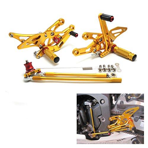 Estriberas Ajustables CNC Reposapiés de Motocicleta para CBR1000RR CBR600RR 2003 2004 2005...