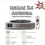 Xgimi official Z4 Aurora *Screenless TV * Centro de entretenimiento del futuro LED proyector Home Cinema 3D con Harman / Kardon personalizado estereo, control por gestos, y Android OS